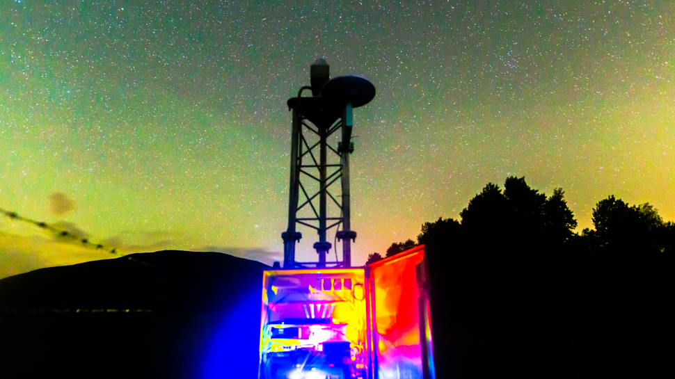 AMON-ES - stanica na pozorovanie airglowu