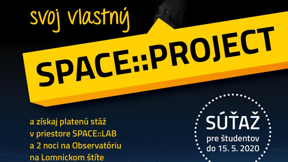 Nový ročník SPACE::PROJECT