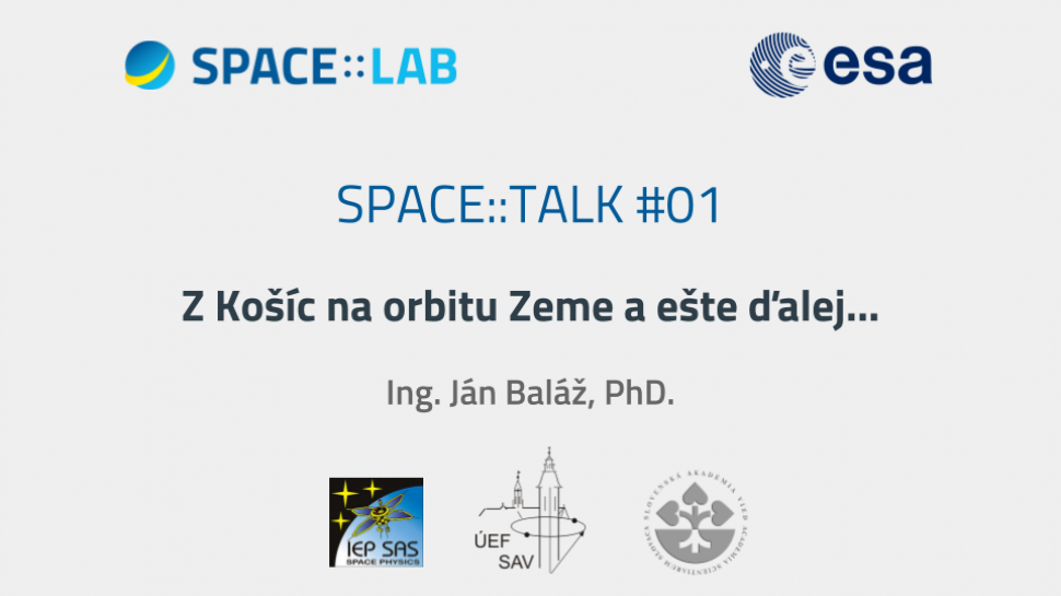 Video záznam z prvého meetupu SPACE::TALK #01