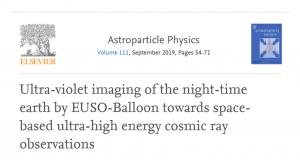 Máme nový vedecký článok